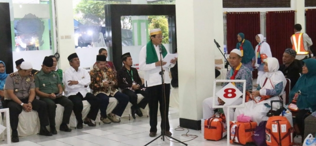 Walikota Tegal Sambut Kedatangan Jamaah Haji