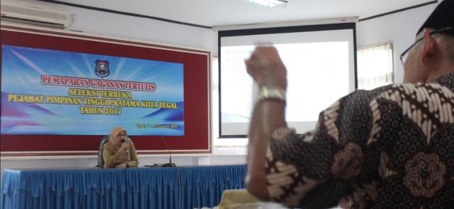 Tiga Pejabat Kabupaten Tegal Ikuti Lelang Jabatan Eselon II Kota Tegal
