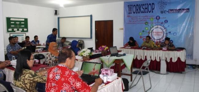 Maksimalkan Pelayanan Publik dengan Workshop e-Kelurahan