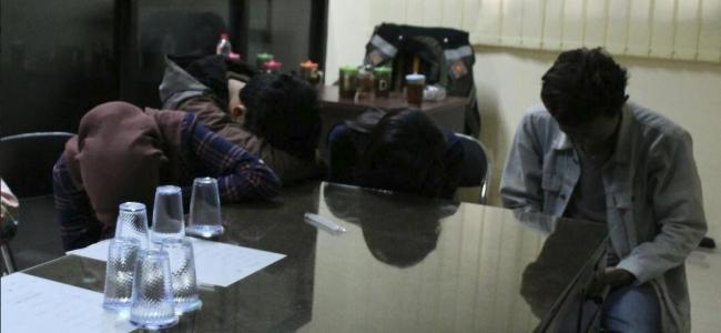 Razia Satpol PP Kota Tegal, Tiga Pasangan Remaja Diangkut