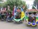 Berbeda dari sebelumnya, Perayaan Tasyakuran HUT RI di Kota Tegal dirayakan di Hutan Mangrove